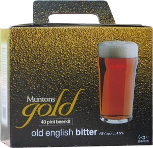 Muntons Gold Old English Bitter Beer Kit 3.0 kg