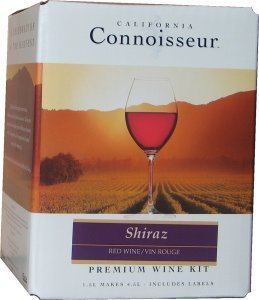 California Connoisseur Shiraz Wines Kit 1.5 litre