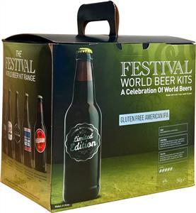 Festival World Beers Gluten Free American IPA Beer Kit 3 kg
