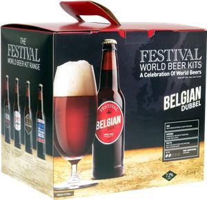 Festival World Beers Belgian Dubbel Beer Kit 3.6 kg