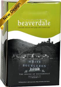 Beaverdale White Bourgeron Wines Kit 30 bottle