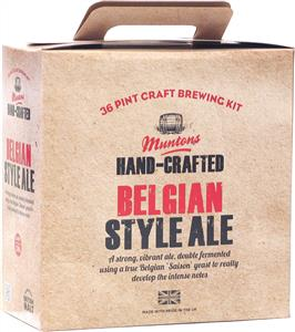 Muntons Hand Crafted Belgian Style Ale Beer Kit 3.6 kg