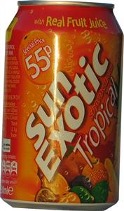Rubicon Sun Exotic Sparkling Tropical (4s) 4 x 330ml