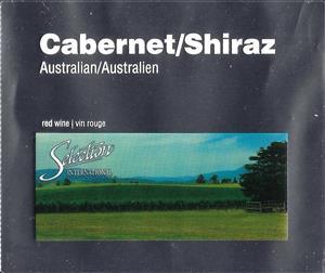 Selection Labels Self Adhesive Australian Cabernet Shiraz (30s)