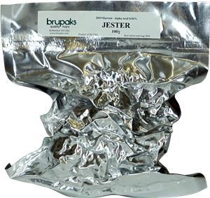 Brupaks Vacuum Packed Hops Jester (UK) 100 g