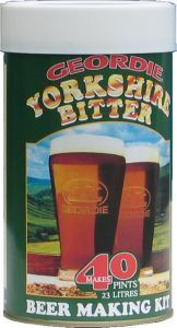 Geordie Yorkshire Bitter Beer Kit 40 pt