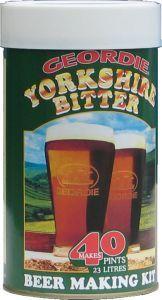 Geordie Yorkshire Bitter Beer Kit 40 pt