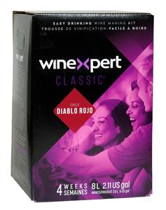 Winexpert Classic Chilean Diabolo Rojo Wines Kit 30 bottle
