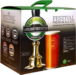 Festival Premium Ale Landlords Finest Bitter Beer Kit 3 kg