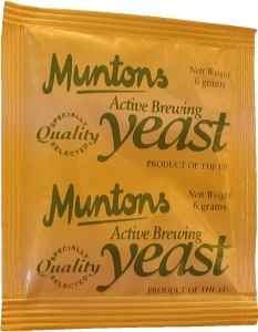 Muntons Homebrewing Yeast 6 g
