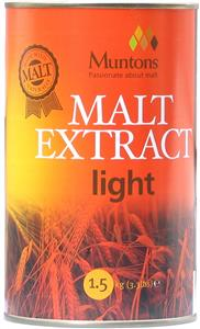Muntons Malt Extract Light 1.5 kg