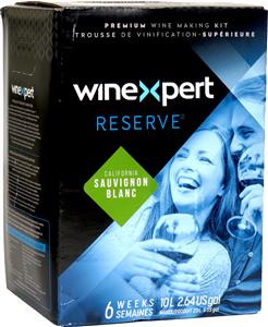 Winexpert Reserve Californian Sauvignon Blanc Wines Kit 30 bottle