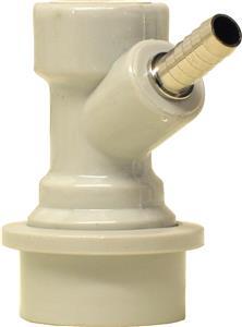 Cornelius Connector (Gas 'IN') 1/4 barb