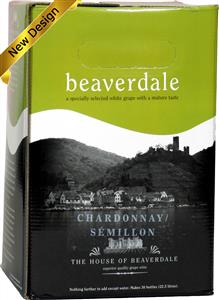 Beaverdale Chardonnay Semillon Wines Kit 30 bottle