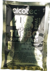 Alcotec Turbo Yeast 48 Dual Turbo Yeast