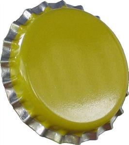 Crown Caps Yellow Crown Caps (45s)