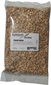 Goldsword Grains Flaked Barley 500 g