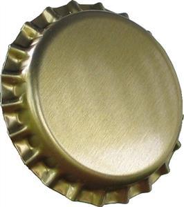 Crown Caps Gold Crown Caps (45s)