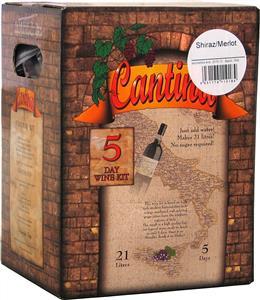 Cantina Gold Shiraz Merlot Wines Kit 7 kg