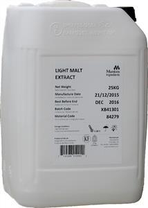 Muntons Light Malt Extract 25 kg