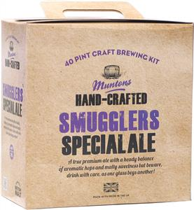 Muntons Hand Crafted Smugglers Special  Ale Beer Kit 3.6 kg