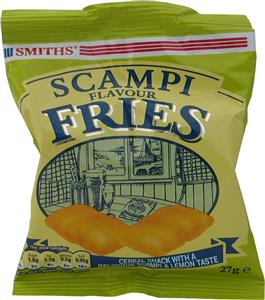 Smiths Scampi Fries (6's) 6 x 24g