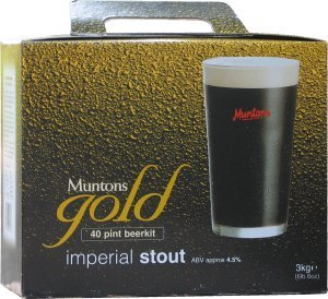 Muntons Gold Imperial Stout Beer Kit 3.0 kg