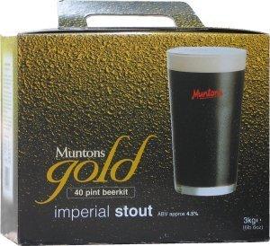 Muntons Gold Imperial Stout Beer Kit 3.0 kg