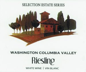 Selection Labels Self Adhesive Washington Columbia Valley Riesling (30s) Label