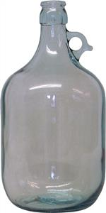 WD Glass Demijohn (clear, Single Handled) 1 gal