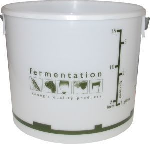 Woodshield Fermentation Bin (bucket) with lid 15 litre 15 litre