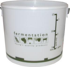 Woodshield Fermentation Bin (bucket) with lid 15 litre 15 litre