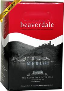 Beaverdale Merlot Wines Kit 30 bottle