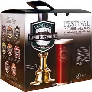 Festival Premium Ale Old Suffolk Strong Ale Beer Kit 4 kg