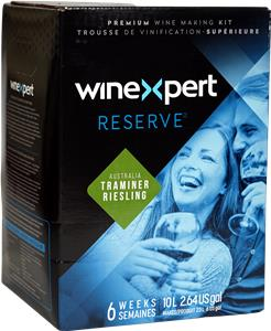 Winexpert Reserve Australian Traminer Riesling Wines Kit 30 bottle