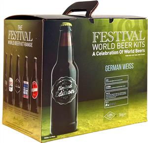 Festival World Beers German Weiss Beer Kit 3 kg