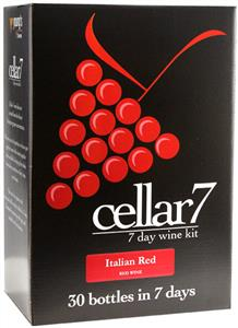 Cellar 7 Italian Red Wines Kit 30 bottle
