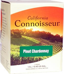 California Connoisseur Pinot Chardonnay Wines Kit 1.5 litre