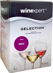 Selection French Merlot Wines Kit 30 bottle