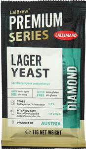 Lalbrew Lager Yeast Diamond 11 g