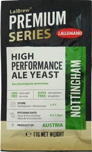 Danstar Ale Yeast Nottingham 11 g