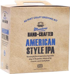 Muntons Hand Crafted American Style IPA Beer Kit 3.6 kg