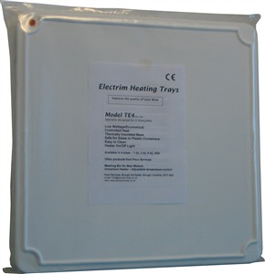 Electrim Heated Pad    (TE4) for 4 demijohns