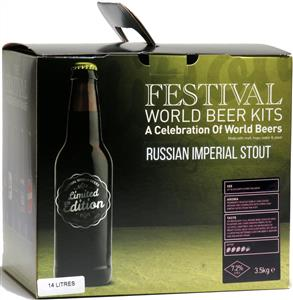 Festival World Beers Russian Imperial Stout Beer Kit 3.6 kg