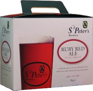 St Peters Ruby Red Ale Beer Kit 3.0 kg