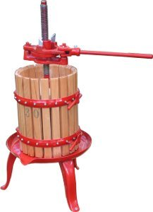Woodshield Fruit Press (spindle - iron) 32 litre 32 litre