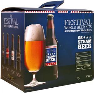 Festival Premium Ale US Steam Beer Beer Kit 3.5 kg
