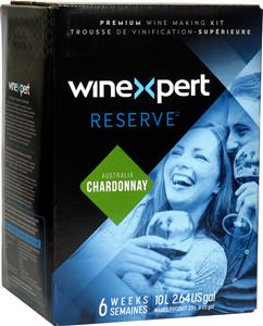 Winexpert Reserve Australian Chardonnay Wines Kit 30 bottle