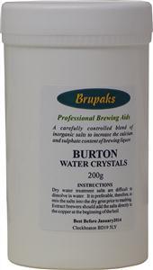 Brupaks Burton Water Crystals 200g