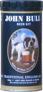 John Bull  Standard Class Traditional English Ale Beer Kit 1.8 kg